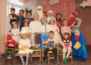 Дед Мороз в гостях у деток