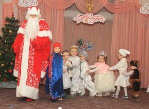 Дед Мороз на празднике
