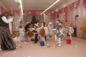 Новый год с детском саду